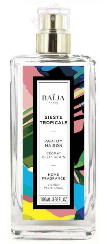 Parfum d\'intérieur Baija - Cédrat Petit Grain - Sieste Tropicale