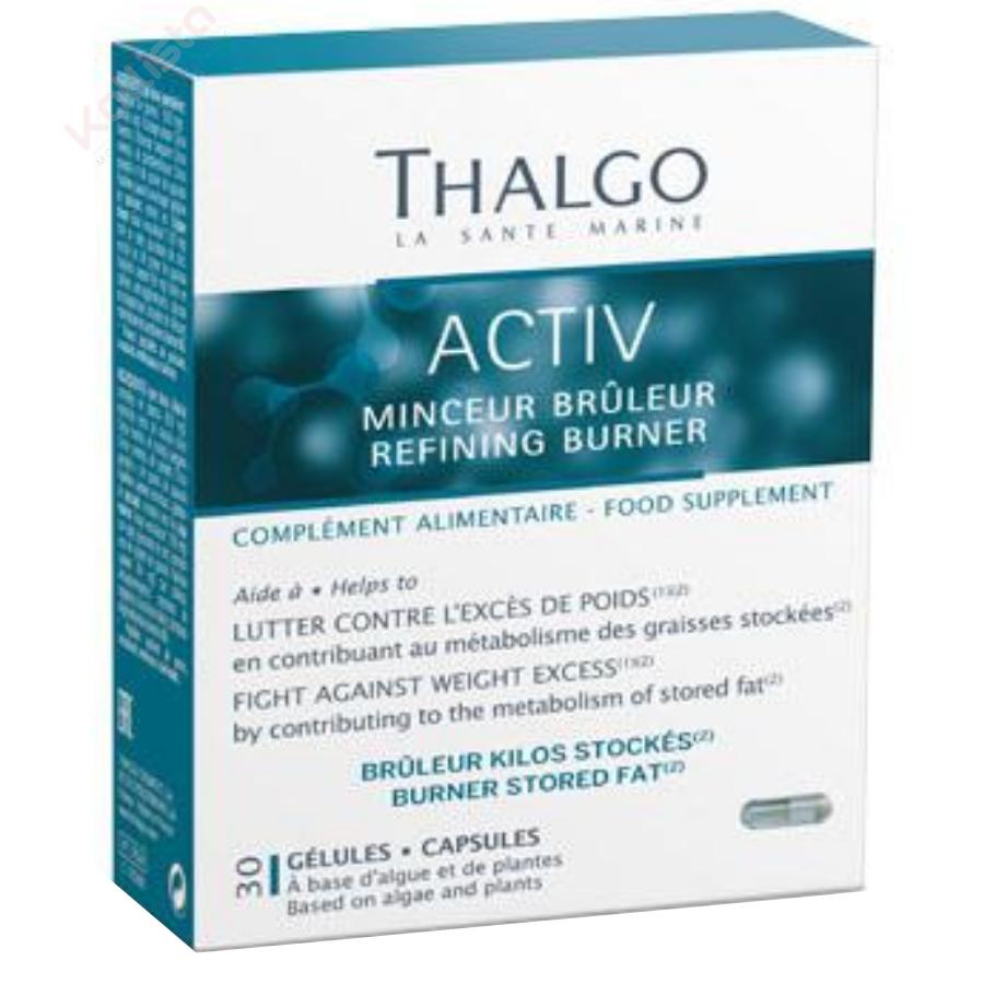 Activ Minceur Brûleur Thalgo : lutter contre l\'excès de poids - Nutri-cosmétique