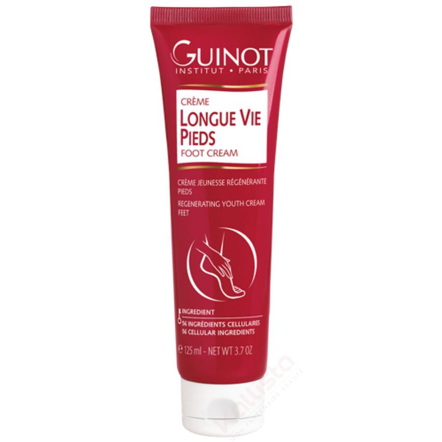 Longue Vie Pieds Guinot - Crème pieds lissante ultra-régénérante