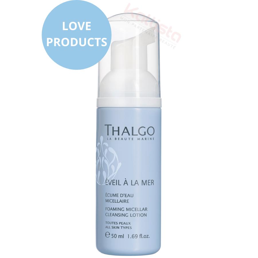 Écume d\'eau micellaire Thalgo - Format voyage 50ml
