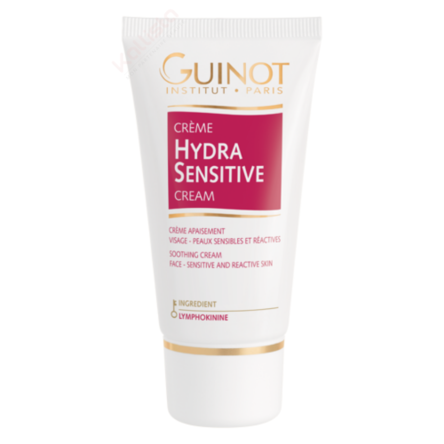 Crème Hydra Sensitive Guinot - Soin visage apaisant peau sensible