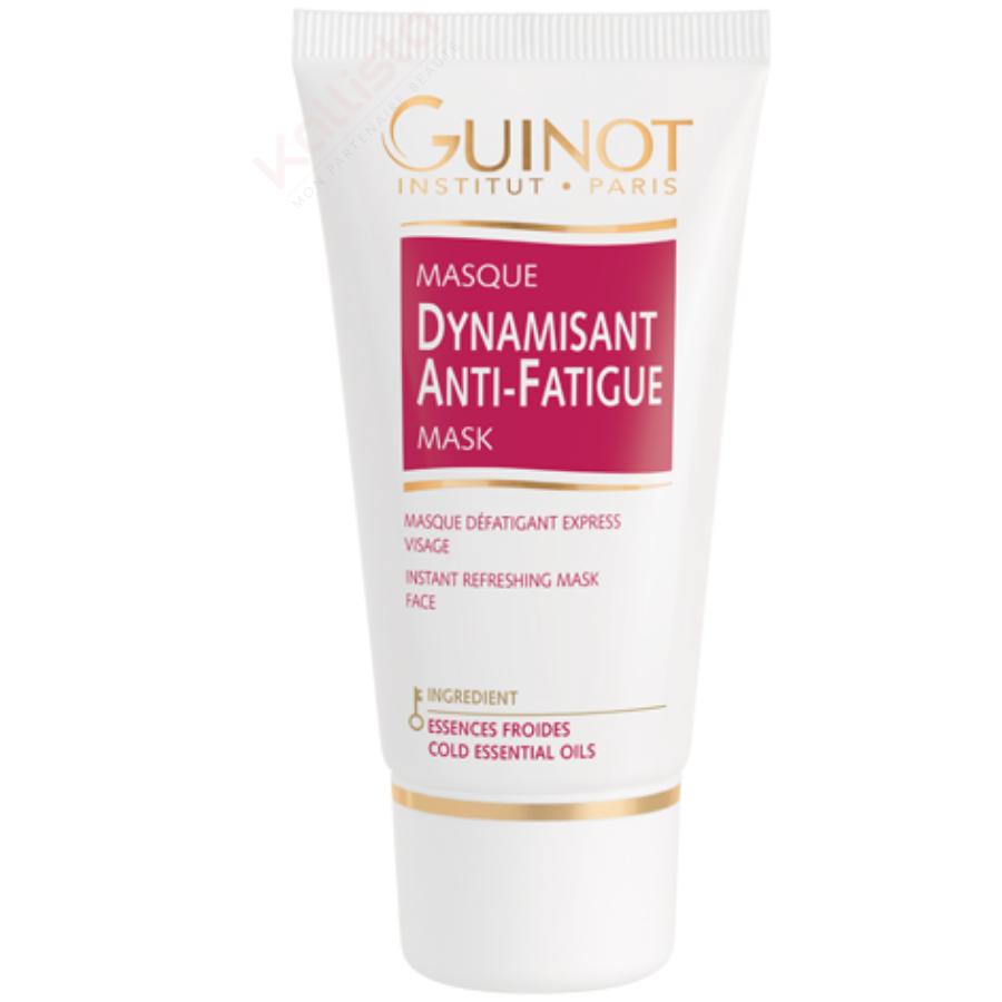 Guinot Masque Dynamisant anti-fatigue aux essences froides - Eclat & fraîcheur