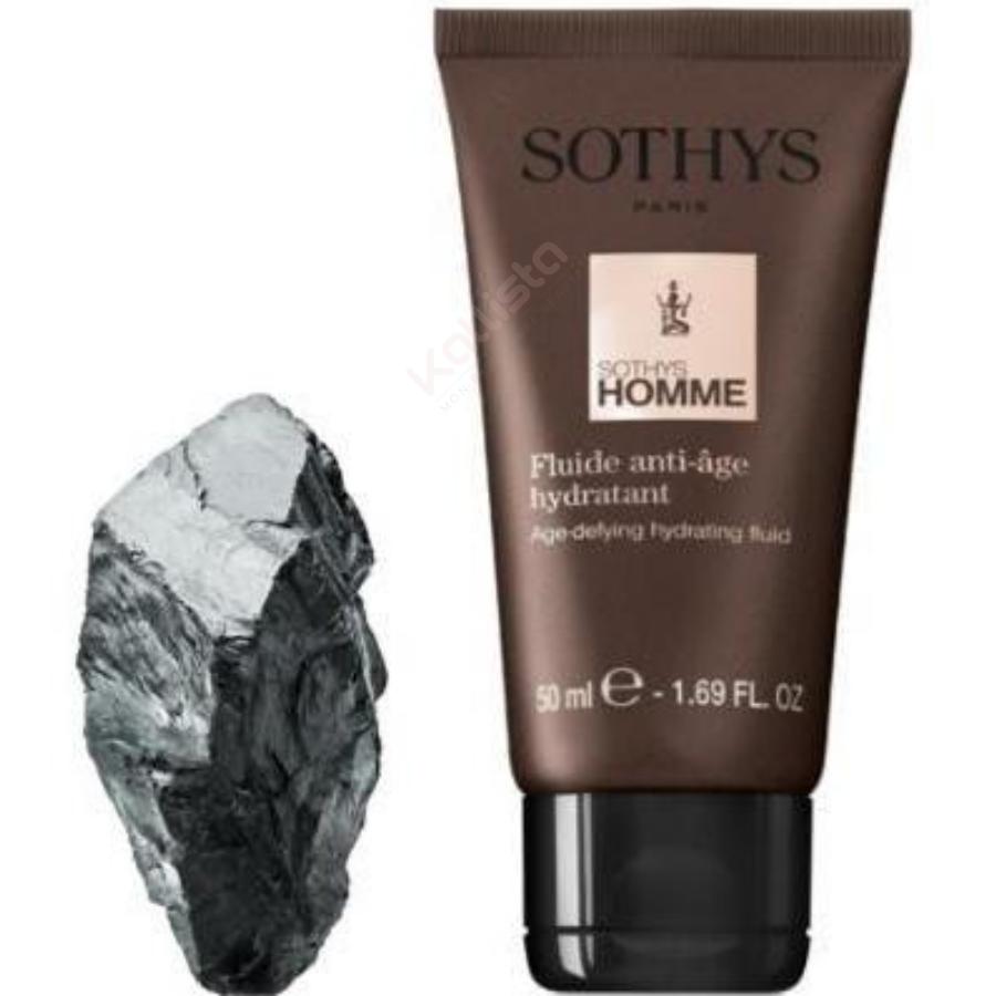 Fluide anti-âge hydratant Homme Sothys : Soin du visage quotidien