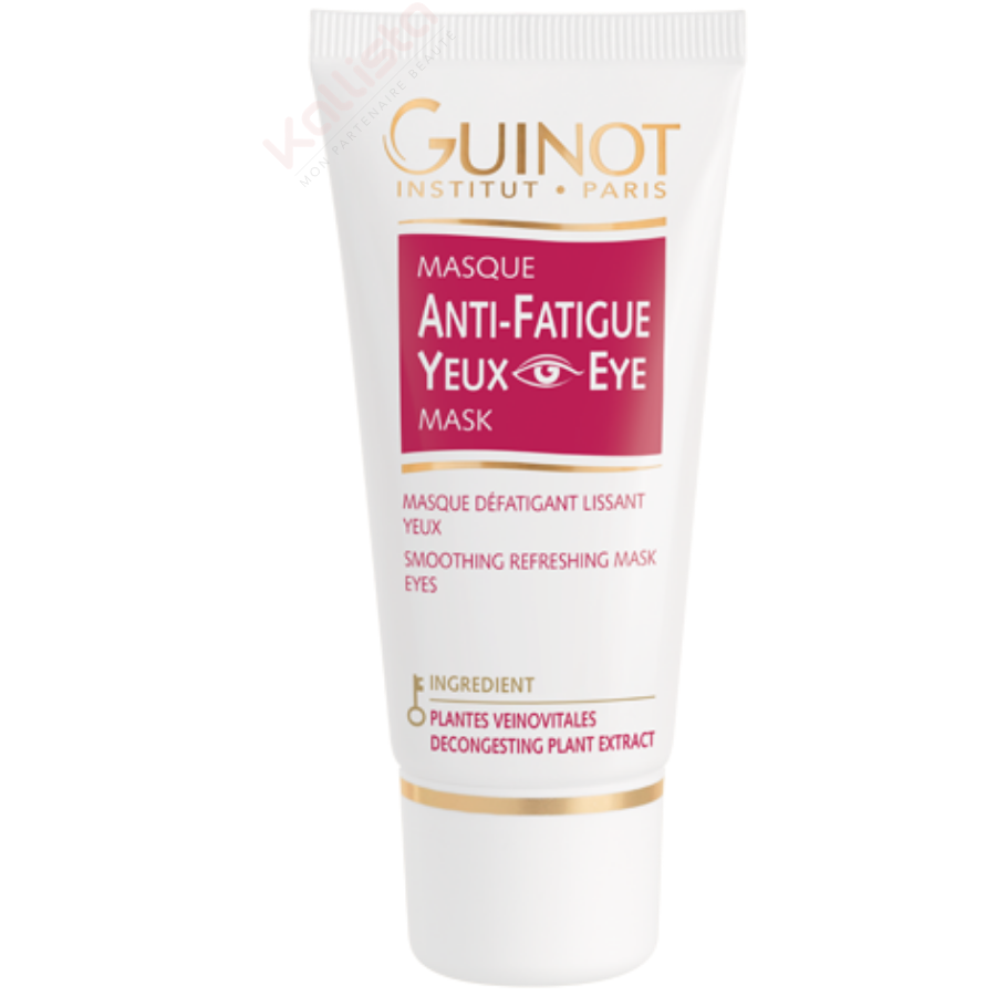 Masque Yeux Guinot anti-fatigue - Masque gel défatigant lissant yeux