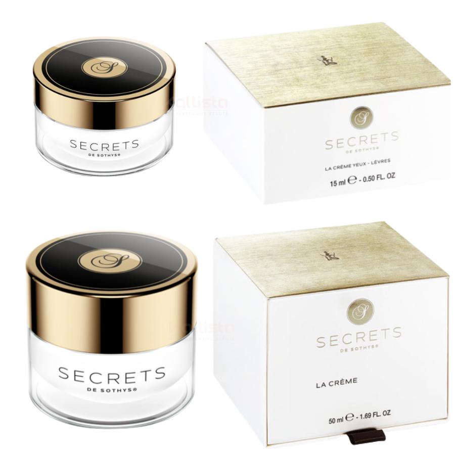 Pack Secrets de Sothys - Duo premium soin visage et yeux, lèvres