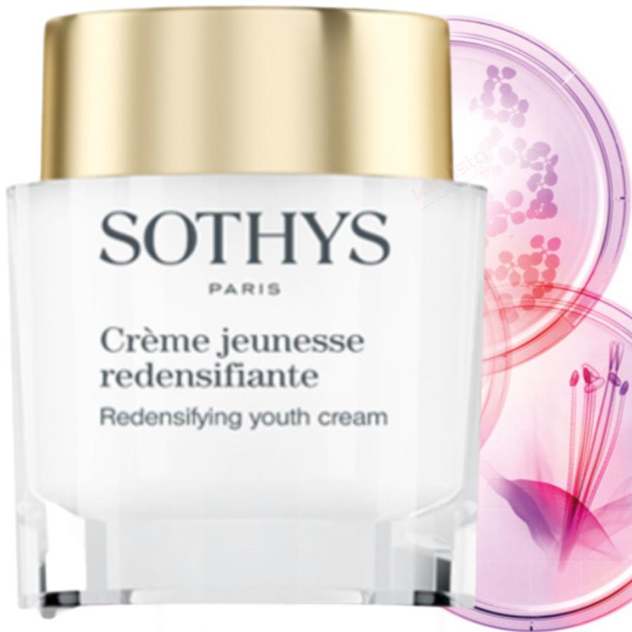Crème jeunesse redensifiante Sothys - Action spécifique contre la perte de vitalité et de densité de la peau