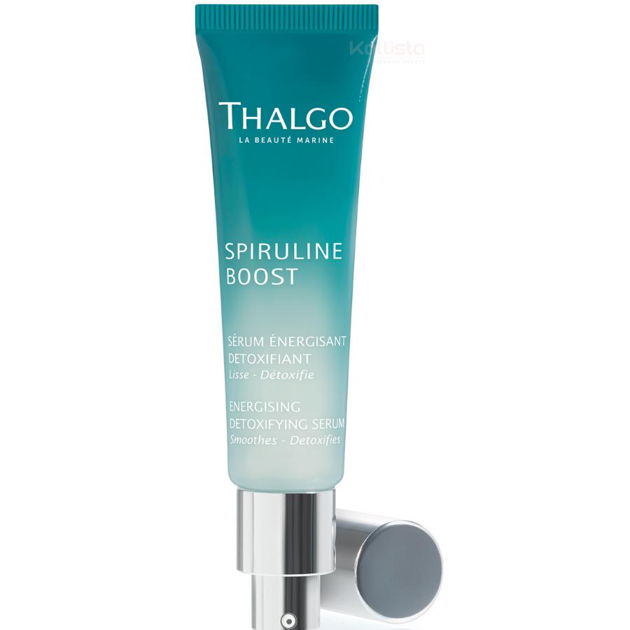 Sérum énergisant détoxifiant Thalgo : lisse, détoxifie - 1ères rides et éclat - Spiruline boost