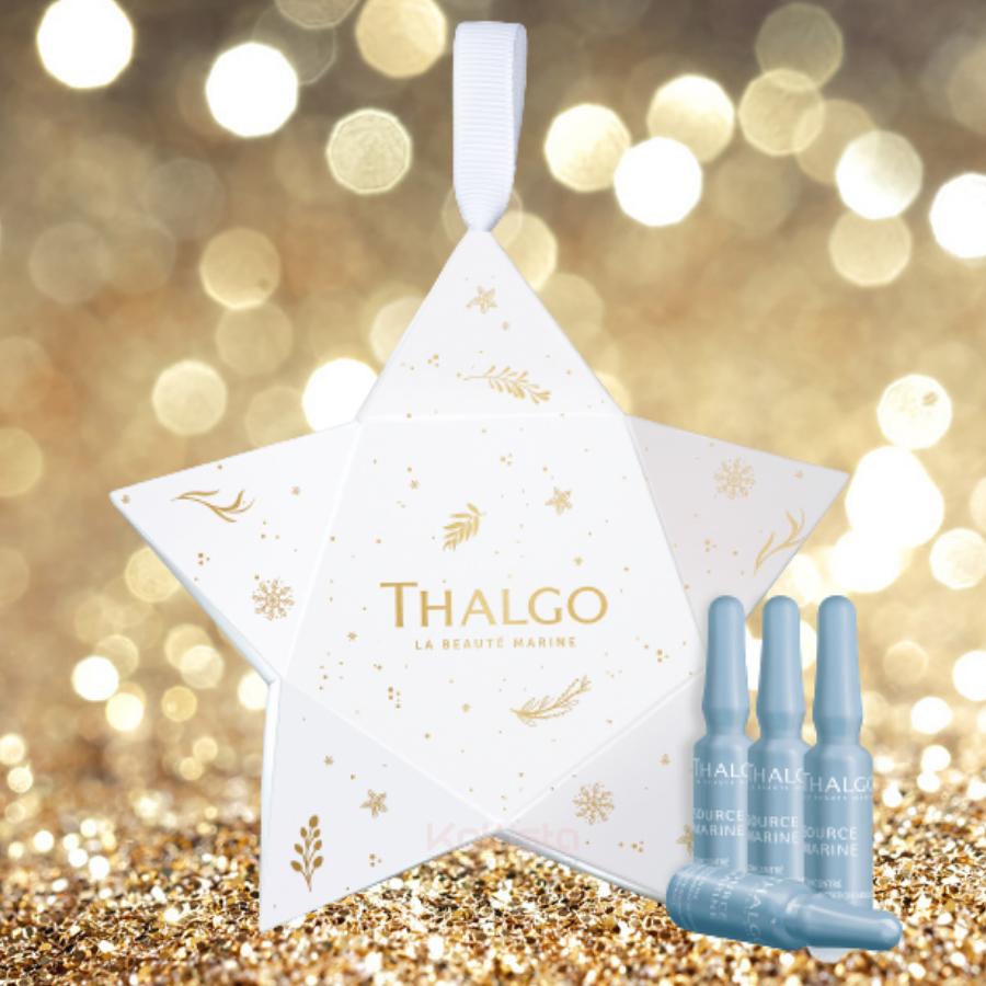 Surprise de Noël Thalgo - 4 Ampoules effet bonne mine et hydratation 1,2 ml