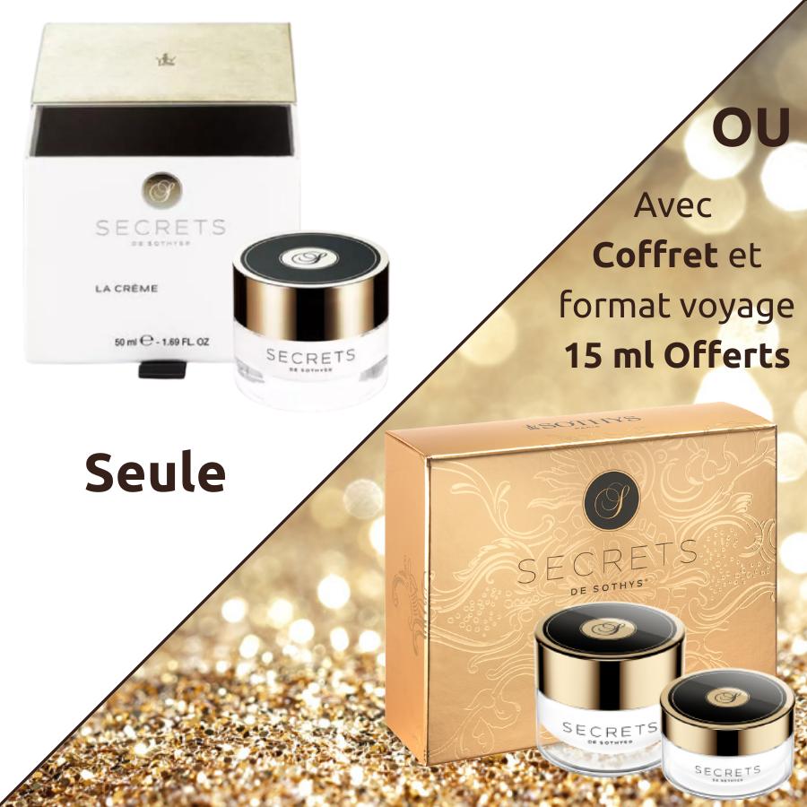 Crème Secrets Sothys - Crème visage premium jeunesse Secrets de Sothys®