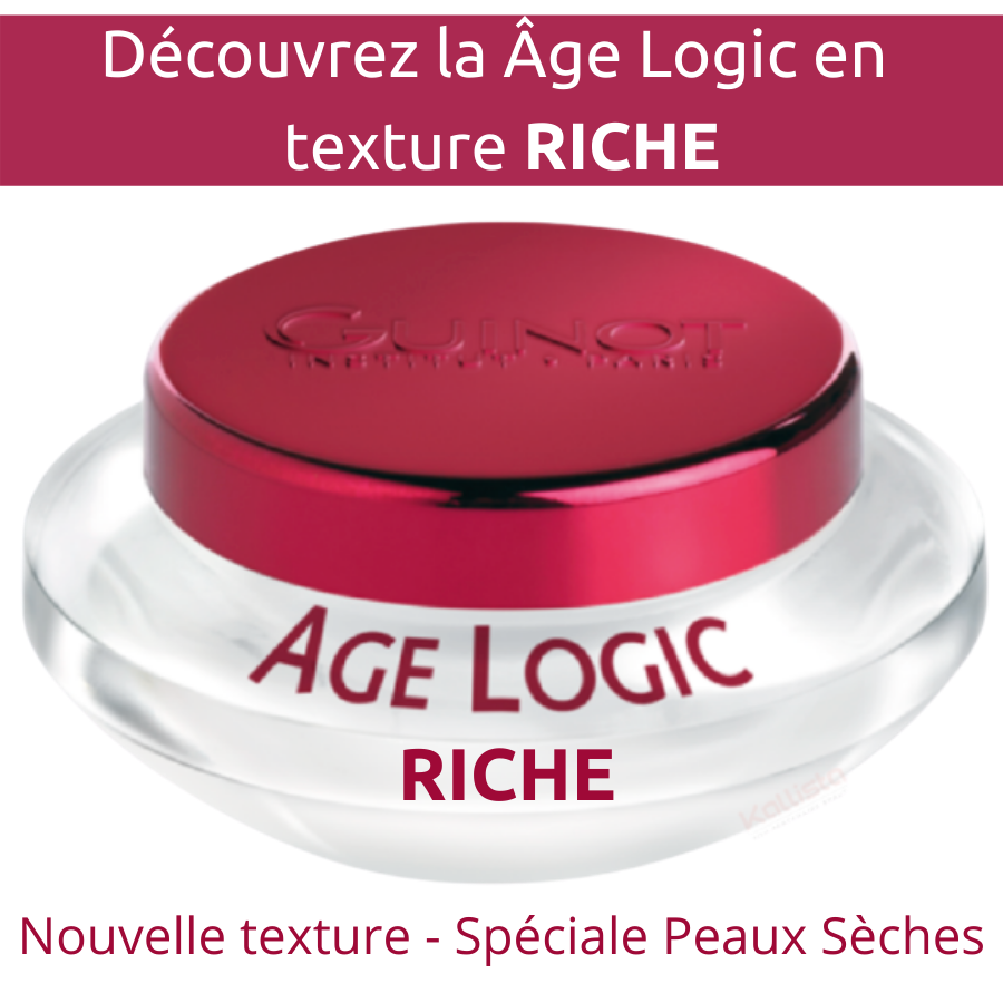 Âge Logic Guinot Crème RICHE - Crème visage premium peaux sèches