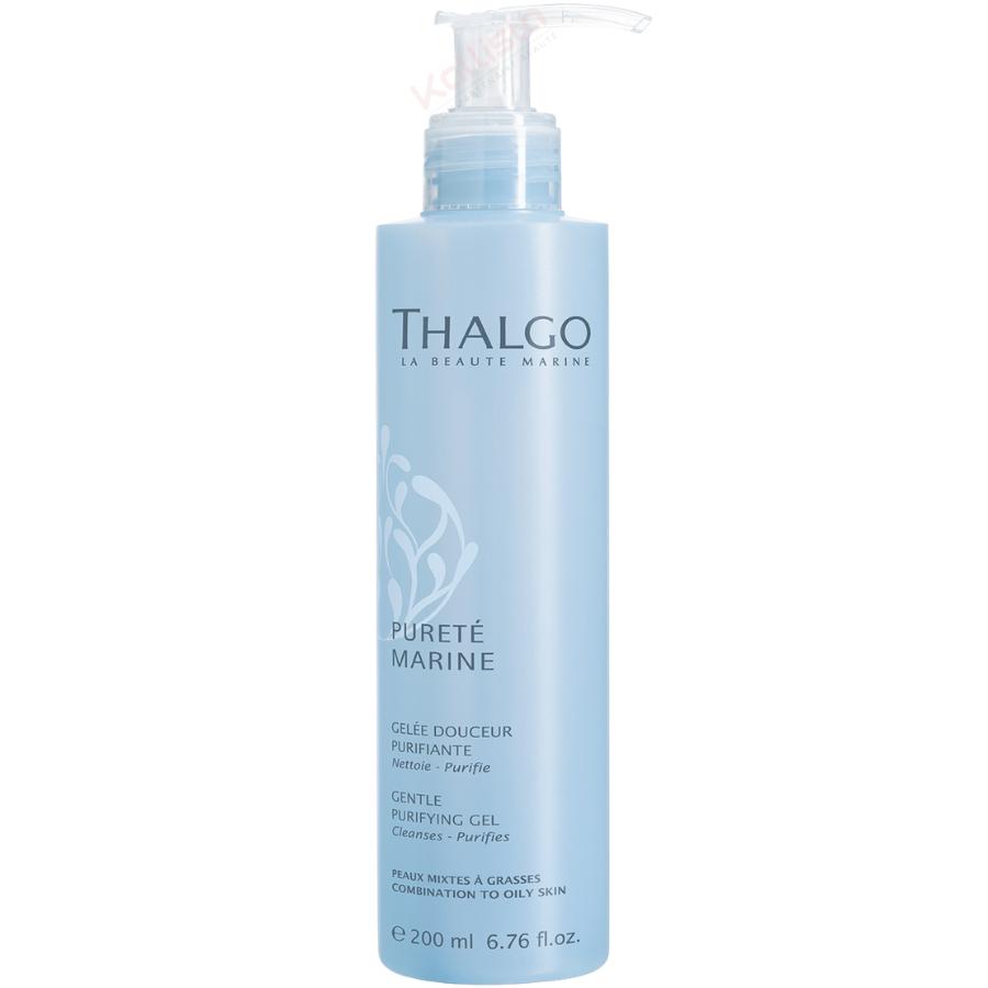 Gelée Douceur Purifiante Thalgo : nettoie, purifie, peaux mixtes à grasses - Pureté marine