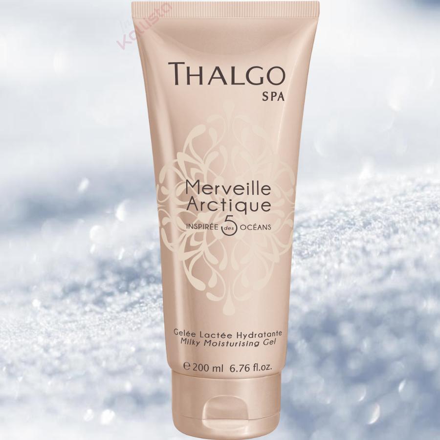Gelée Lactée Hydratante Thalgo : adoucir, satiner - Merveille arctique