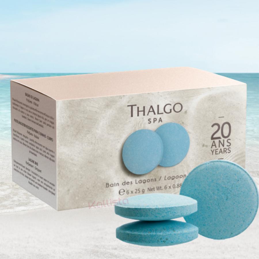 Bain des Lagons Thalgo : galet effervescent x6