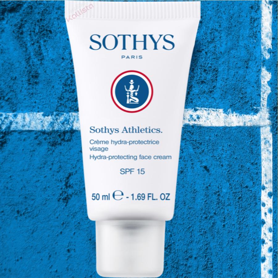 Crème hydra-protectrice visage SPF15 Sothys Athletics