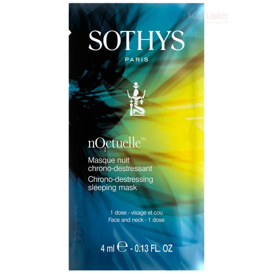 Masque de nuit chrono-destressant Sothys - Une peau plus belle dès le 1er réveil