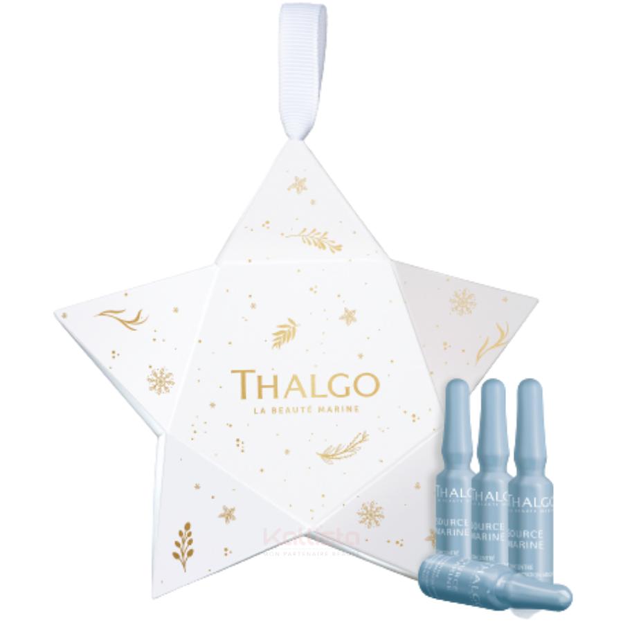 Surprise Thalgo - 4 Ampoules effet bonne mine et hydratation 1,2 ml