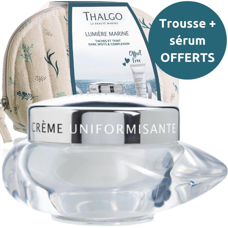Crème uniformisante Thalgo : lisser et uniformiser - Lumière Marine