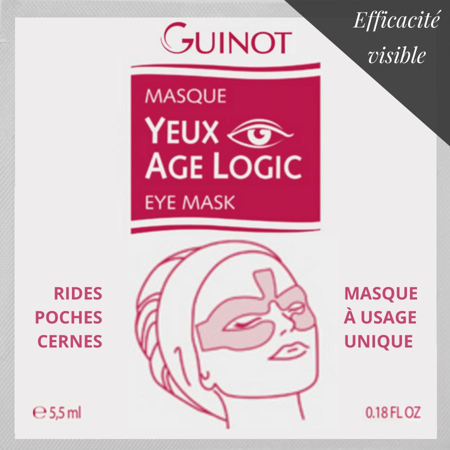 1 sachet de masque yeux anti-âge, anti-fatigue et éclat - Âge Logic Guinot