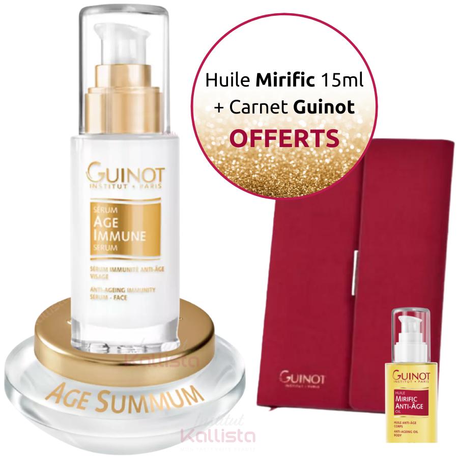 Pack Prestige Guinot Duo de Crème Âge Summum et Sérum Âge Immune