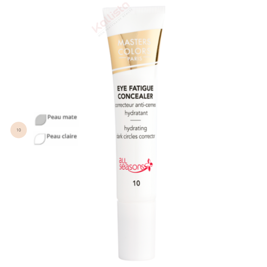 Correcteur anti-cernes hydratant : Eye fatigue concealer, teinte universelle - Masters Colors
