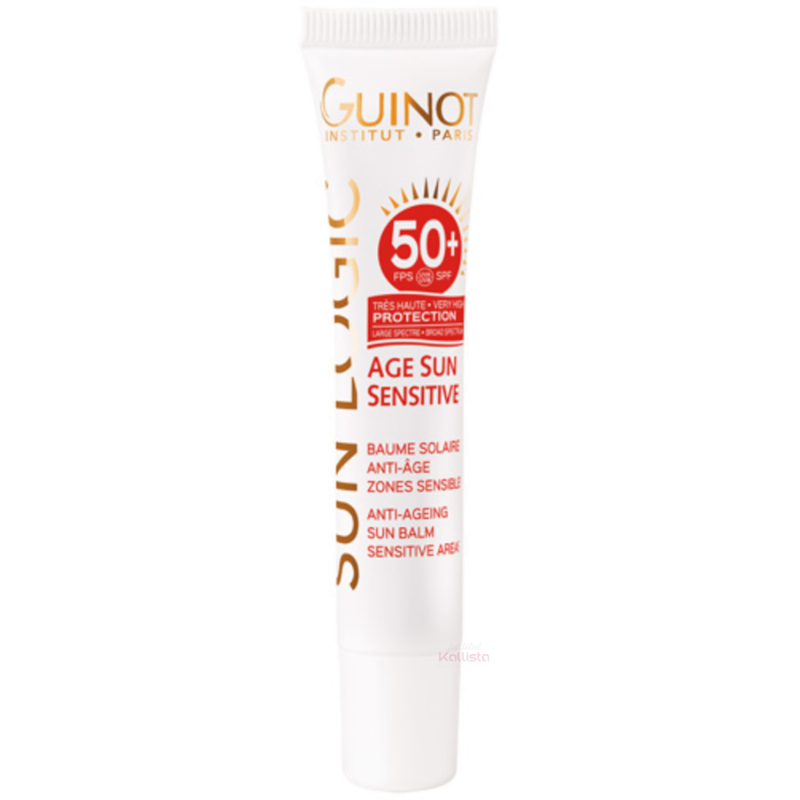 Baume Solaire Anti-âge SPF 50+ Guinot - Zones sensibles
