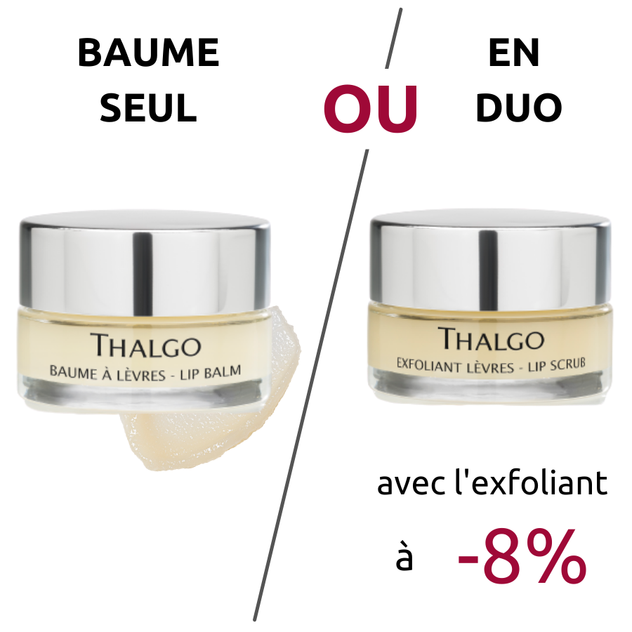Baume à Lèvres Naturel Thalgo - Hydratation - Kiss Collection