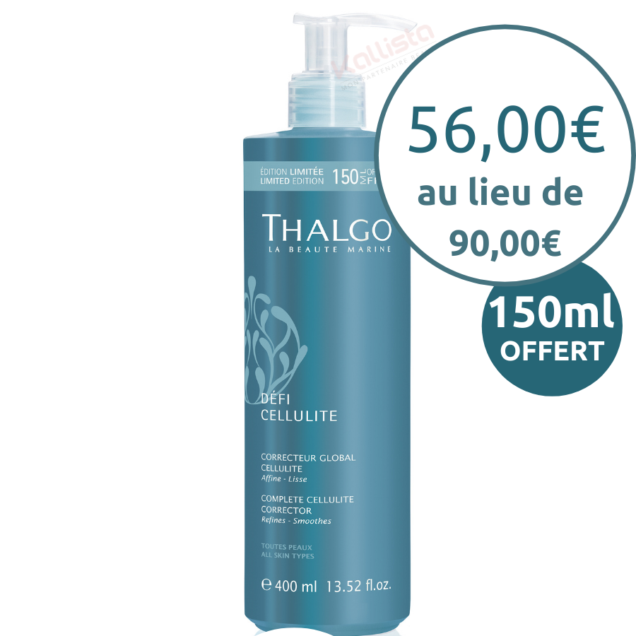 Correcteur Global Cellulite Thalgo - Affiner, lisser - Défi Cellulite