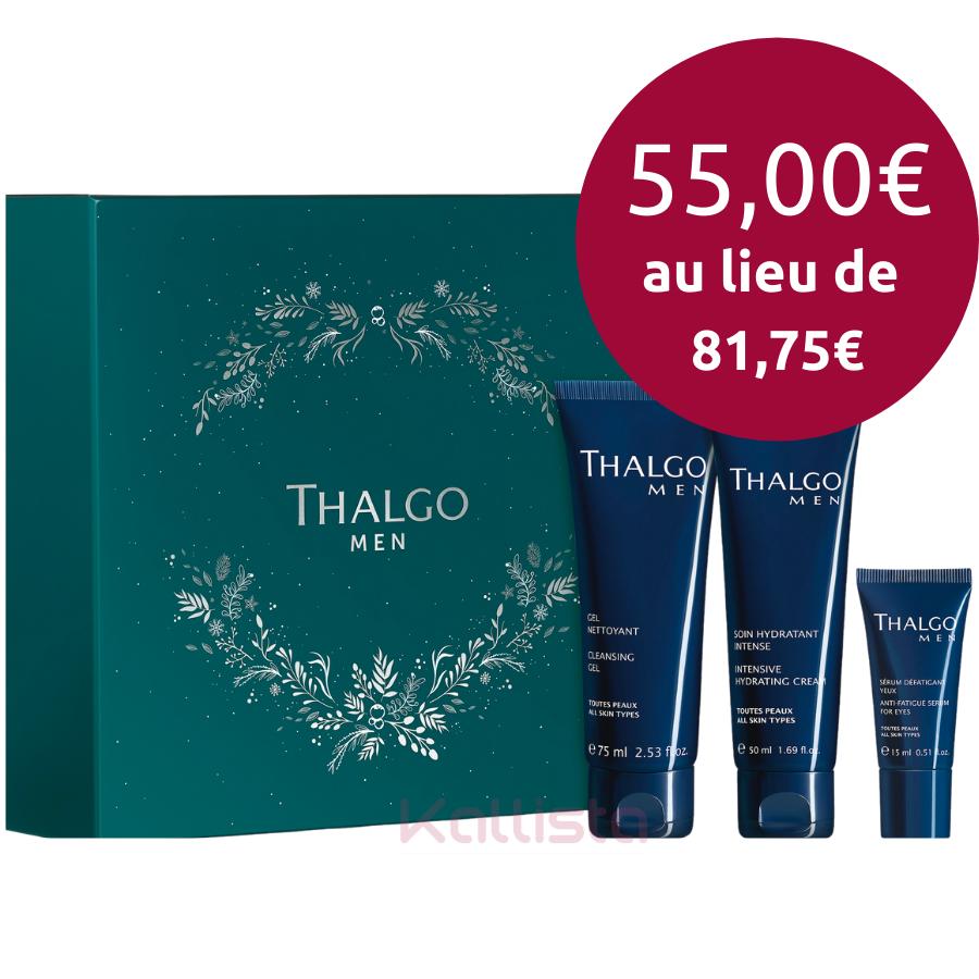 Coffret Thalgo - ThalgoMen - 3 produits visage pour Hommes