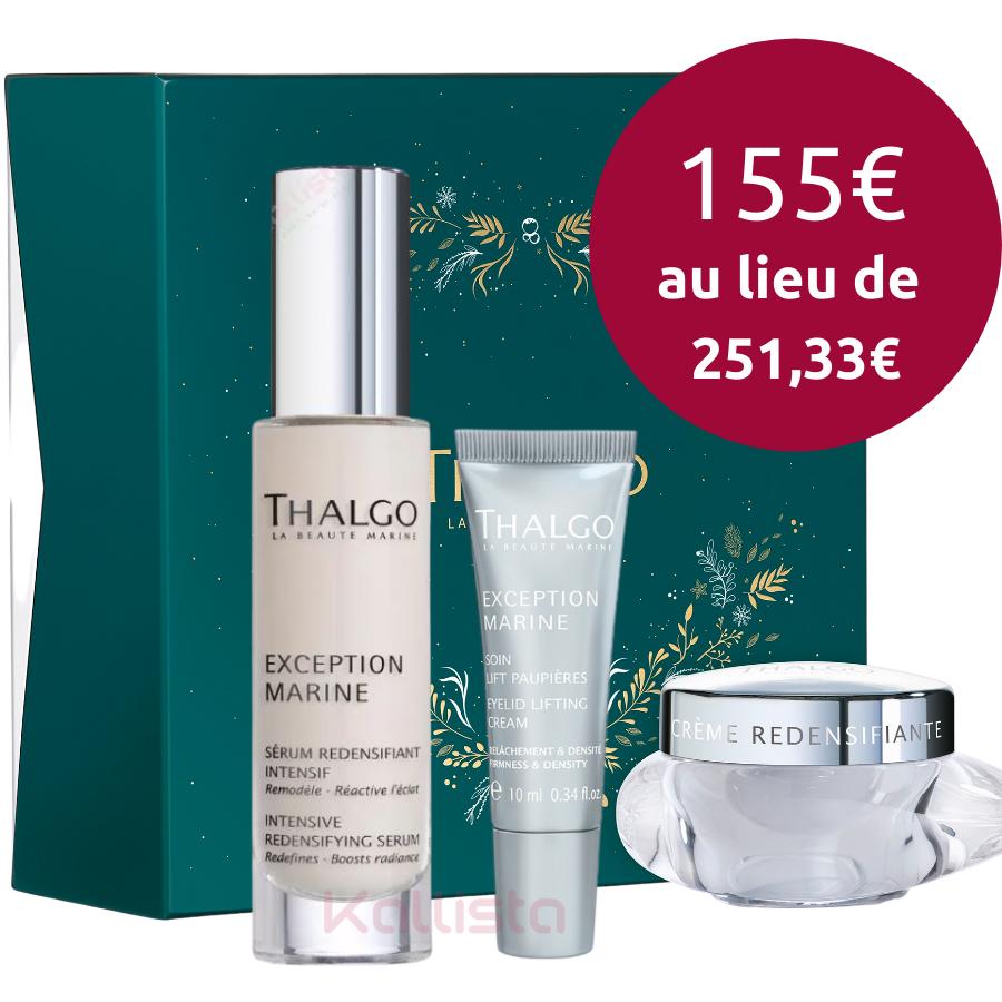 Coffret Thalgo Anti-Âge - Peaux normales à sèches - Exception Marine - 3 produits visage