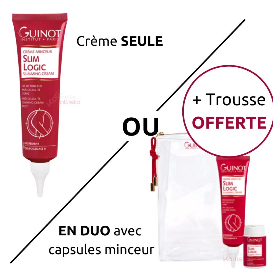 Slim Logic Guinot - Crème minceur anti-cellulite corps