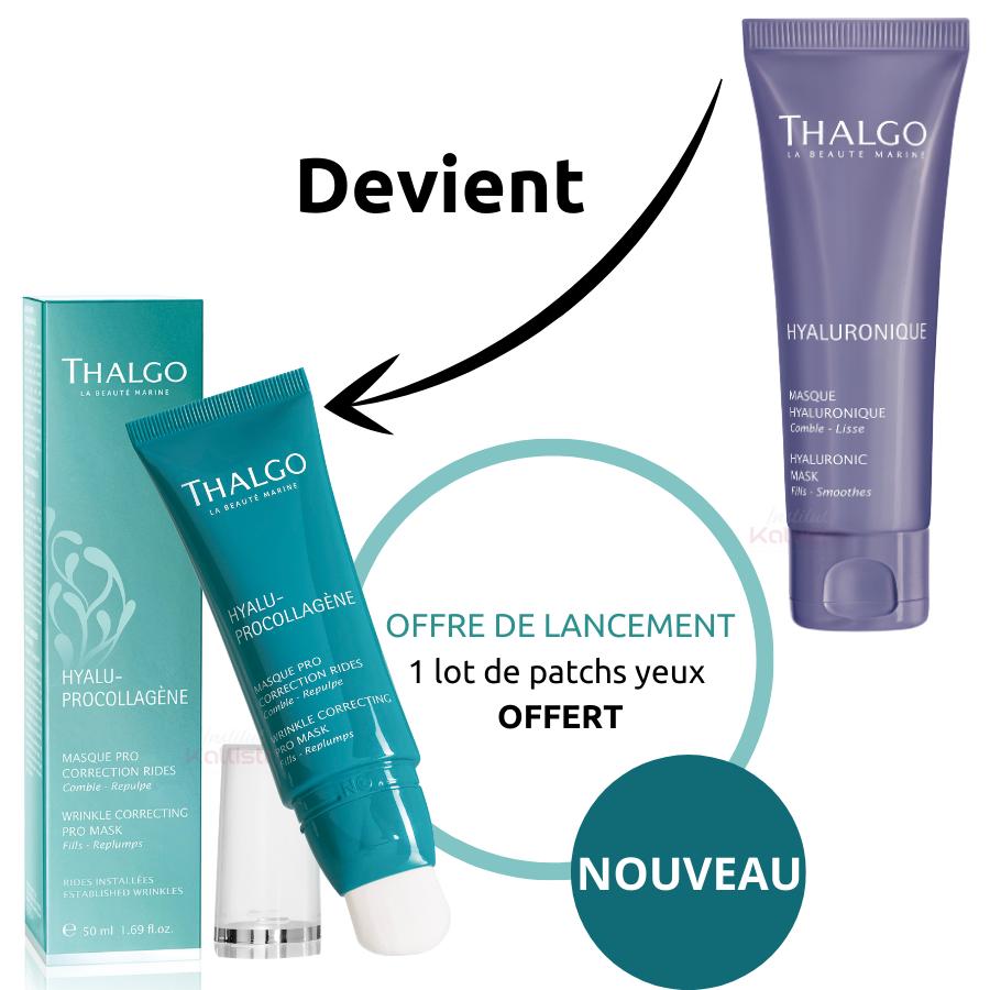Masque Pro Correction Rides Thalgo, anciennement Masque Hyaluronique Thalgo - HYALUPROCOLLAGÈNE