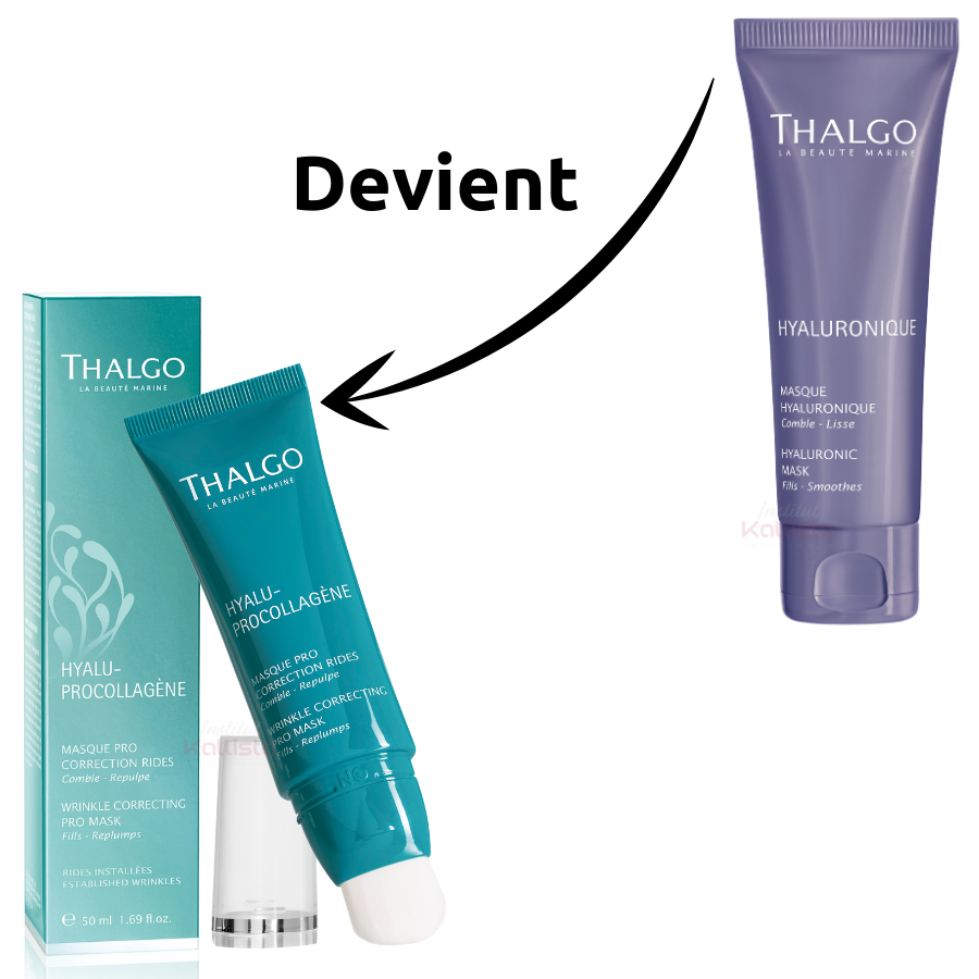 Masque Pro Correction Rides Thalgo - HYALUPROCOLLAGÈNE