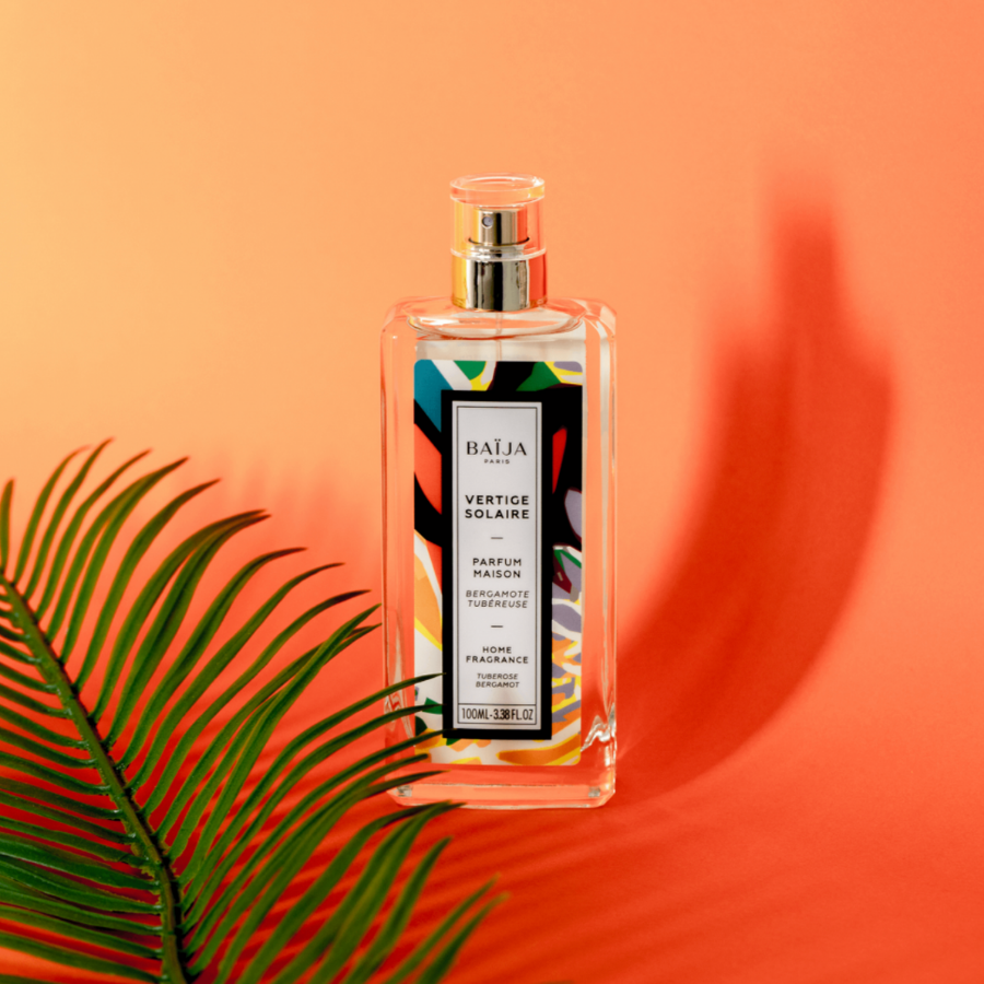 Parfum d\'intérieur Baija - Bergamote Tubéreuse - Vertige Solaire
