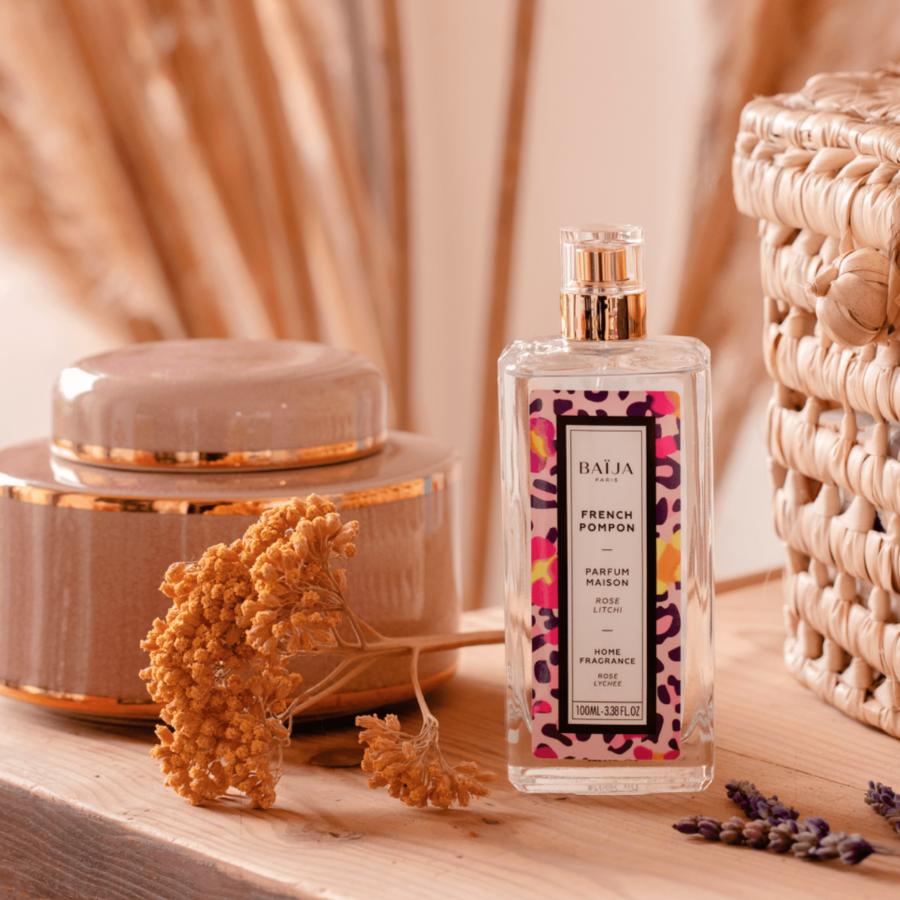 Parfum d\'intérieur Baija - Rose et Litchi - French Pompon
