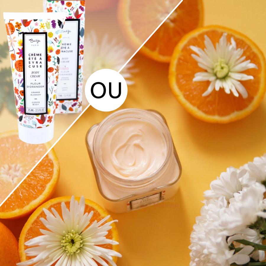 Crème hydratante corps Baija -Fleur d\'oranger- Été à Syracuse