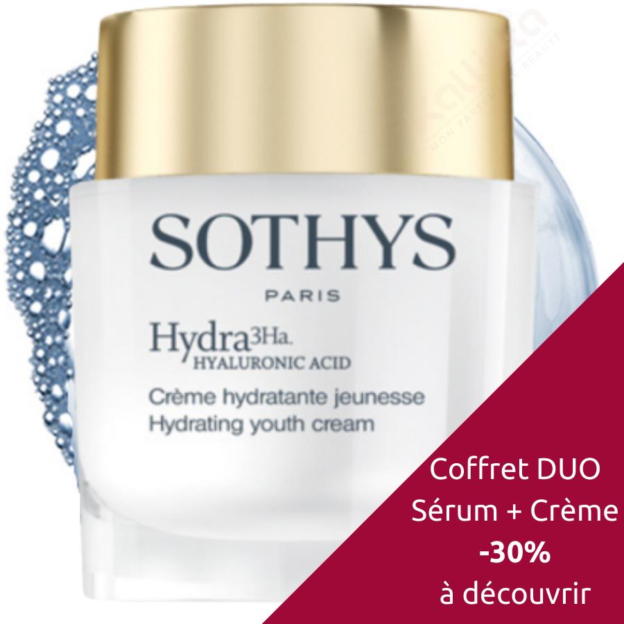 Sothys Hydra 3Ha ™ - Crème hydratante Jeunesse : Soin visage hydratant