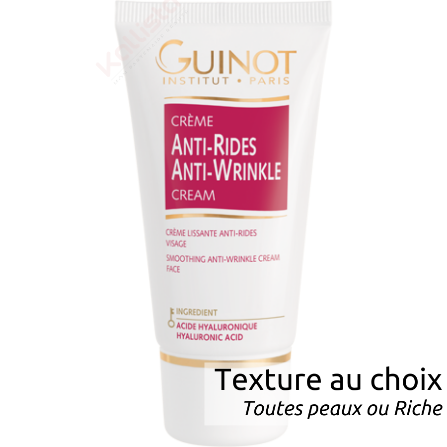 Crème Vital Antirides Guinot - Soin visage lissant antirides