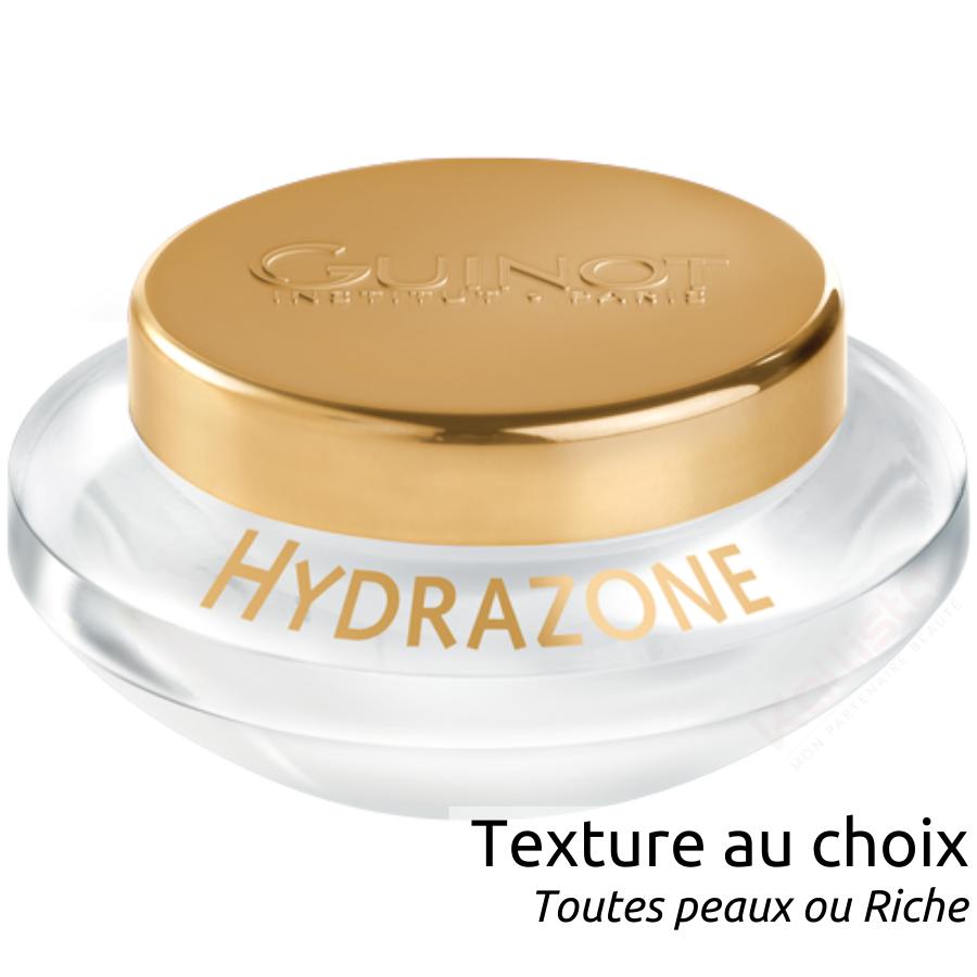 Guinot Hydrazone - Crème visage hydratation intense : 2 textures au choix