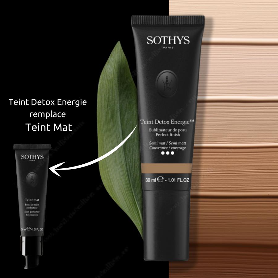 Teint Detox Energie™ Sothys - Fond de teint sublimateur de peau - Nouveauté dans la lignée du Teint Mat