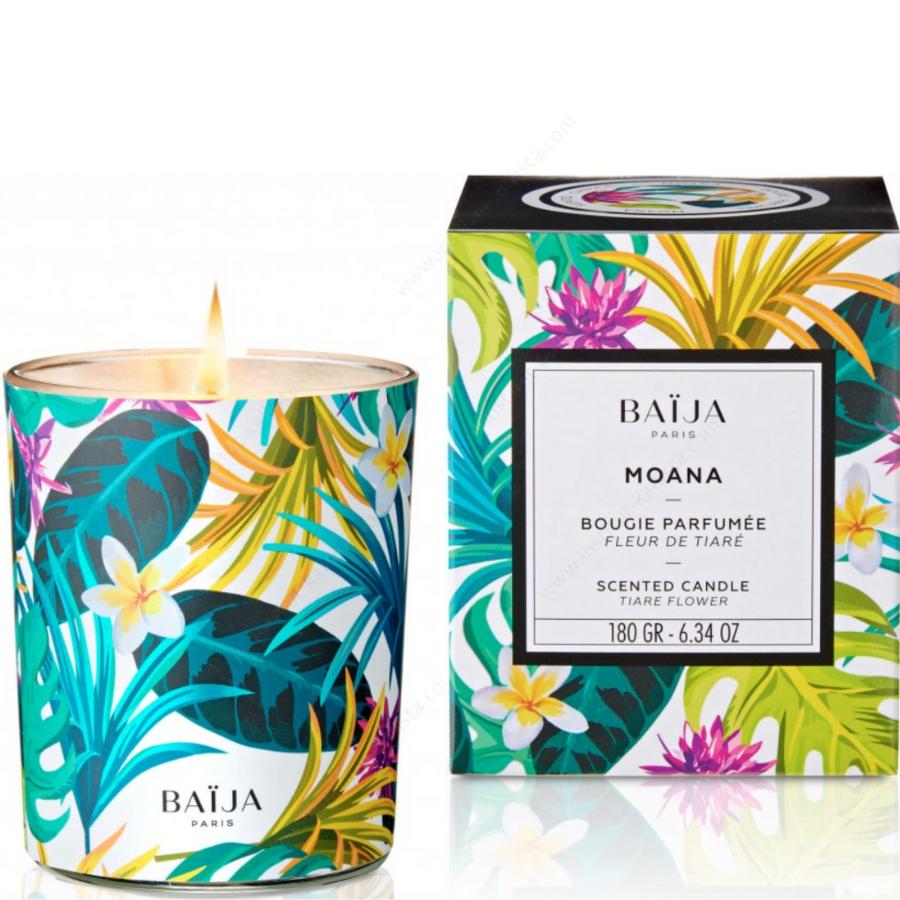 Bougie parfumée Baija - Fleur de Tiaré - Moana