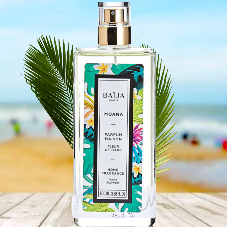 Parfum d\'intérieur Baija - Fleur de Tiaré - Moana