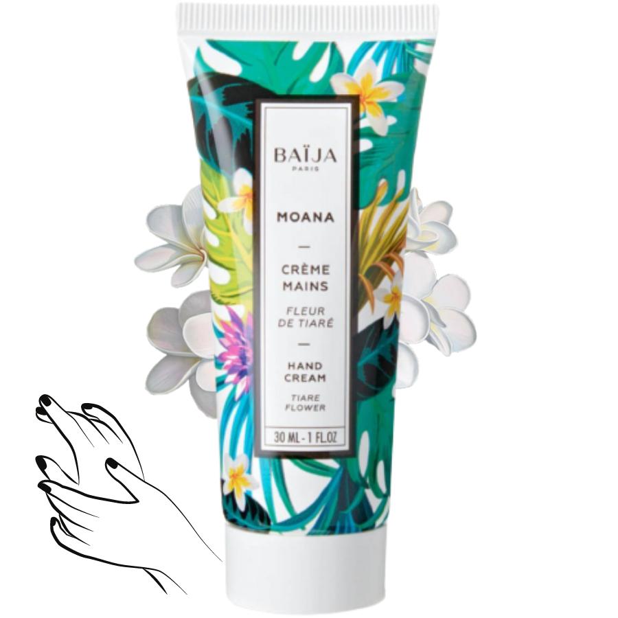Crème mains Baija - Fleur de Tiaré - Moana