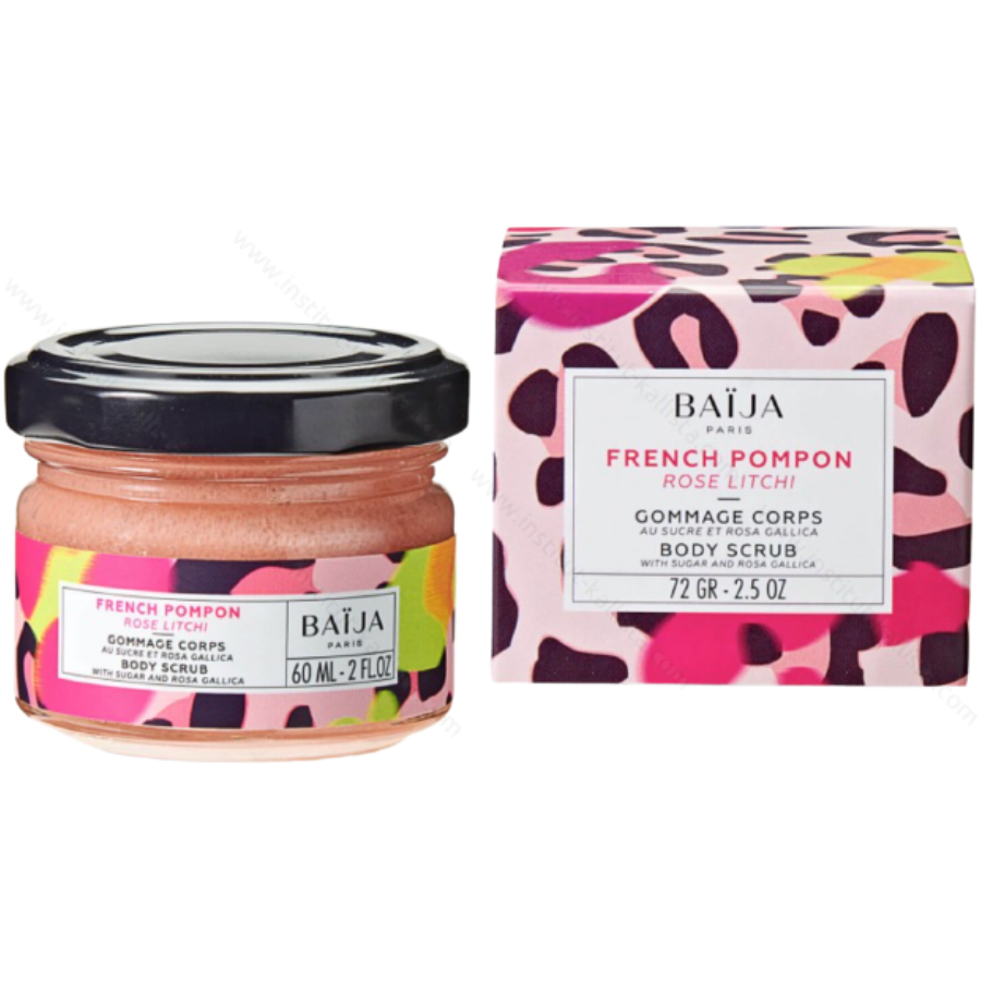 Gommage French Pompon - Exfoliant corps - Rose et Litchi
