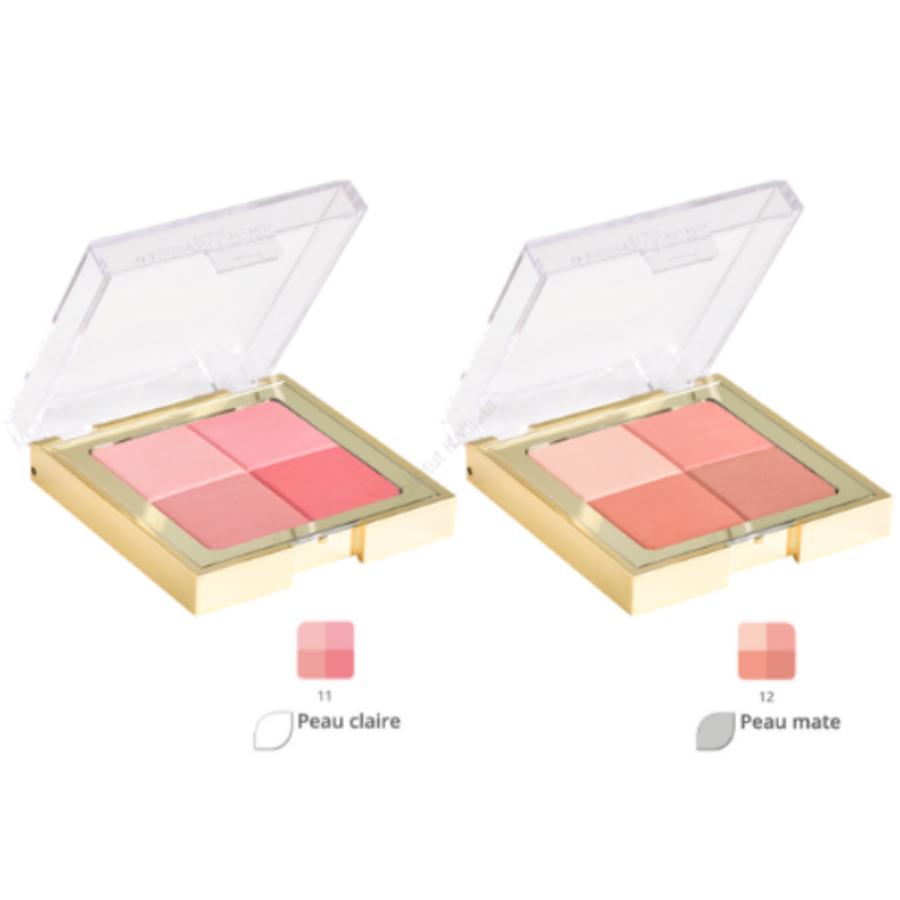Fard à joues 4 couleurs : Blush all seasons - Masters Colors, 2 teintes au choix