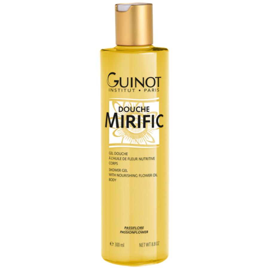 Douche Mirific Guinot - gel douche à l\'huile de fleur Nutritive