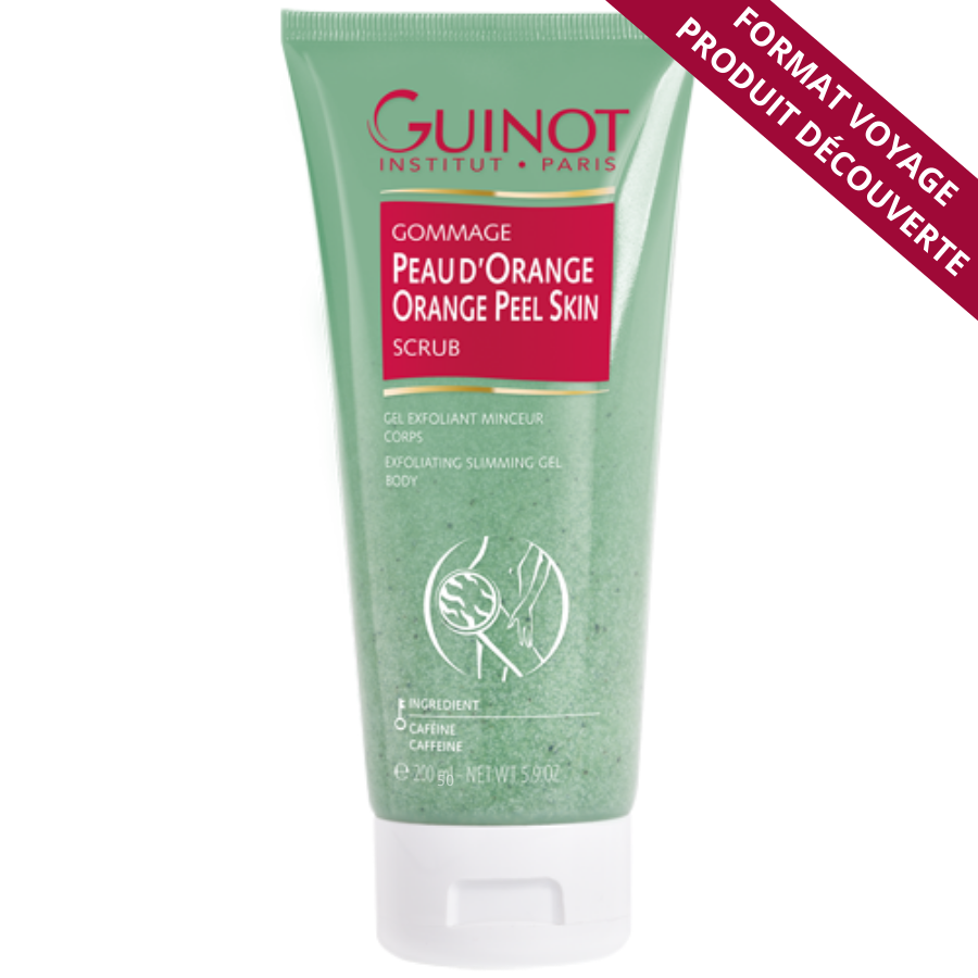 Gommage corps Guinot - Grand format voyage 50ml