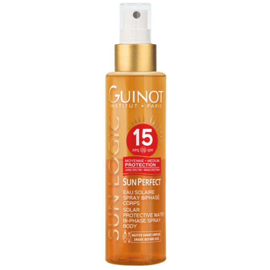 Sun Perfect Eau solaire spray biphasé corps SPF15 - Moyenne protection