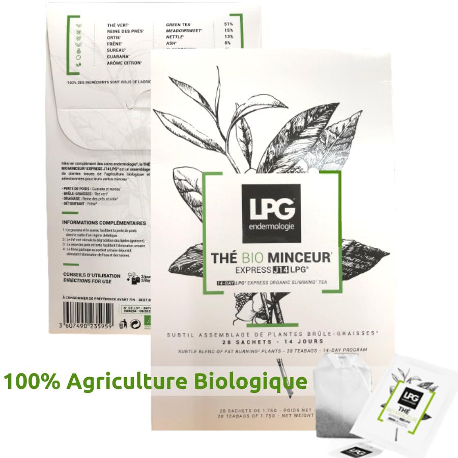 Thé LPG - Bio & Minceur Express - Cure 14 jours