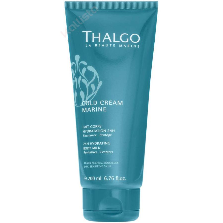 Thalgo Cold Cream Marine Lait Corps - Hydratation 24h, ressource et protège