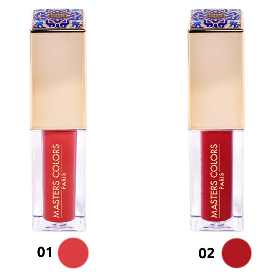 Velvet Lip Powder Masters Colors - Rouge à lèvres liquide Mat - 2 teintes au choix
